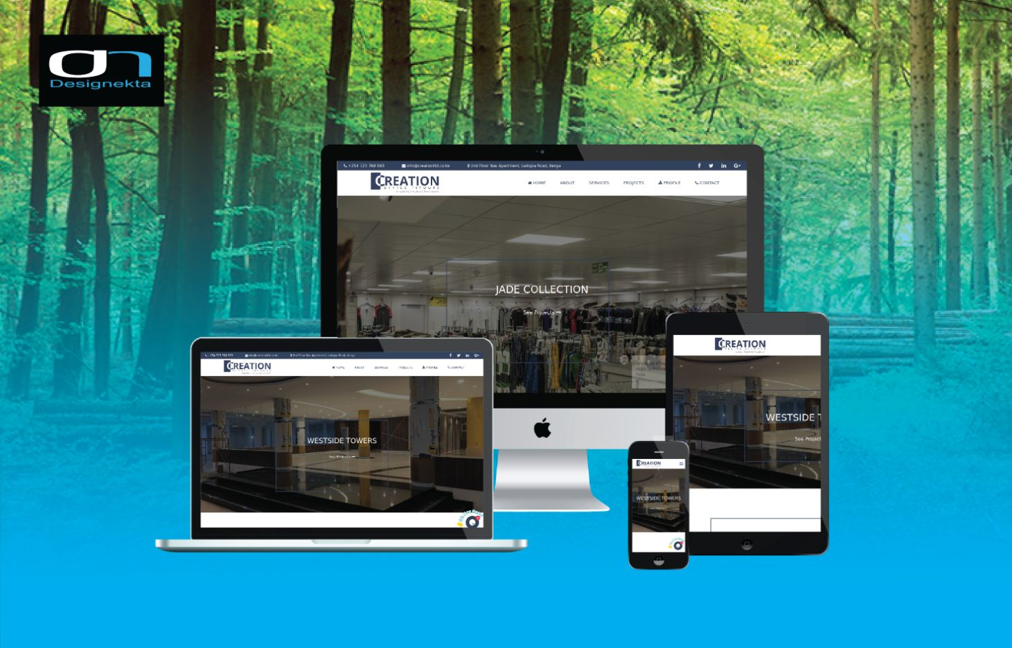 Creation Office Fitouts Website