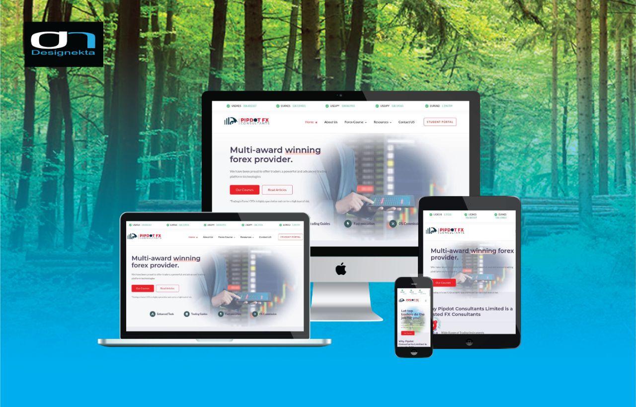 Pipdot FX Web Application